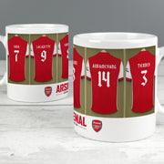 Personalised Arsenal FC Dressing Room Ceramic Mug - Personalised Books-Personalised Gifts-Baby Gifts-Kids Books