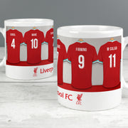 Personalised Liverpool FC Dressing Room Ceramic Mug - Shop Personalised Gifts