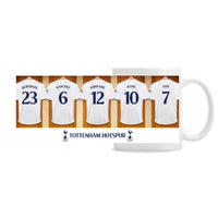 Personalised Tottenham Hotspur FC Dressing Room Ceramic Mug - Shop Personalised Gifts