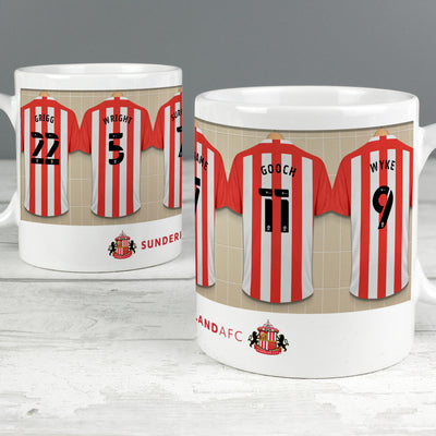 Personalised Sunderland AFC Dressing Room Ceramic Mug - Shop Personalised Gifts