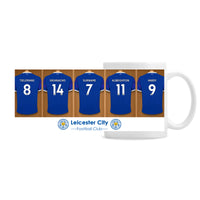 Personalised Leicester City FC Dressing Room Ceramic Mug - Personalised Books-Personalised Gifts-Baby Gifts-Kids Books