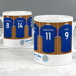 Personalised Leicester City FC Dressing Room Ceramic Mug - Shop Personalised Gifts