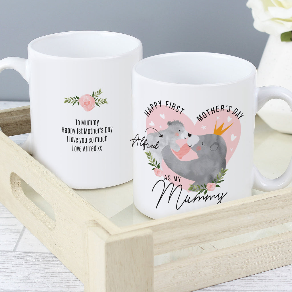 Personalised 1st Mother's Day Mama Bear Ceramic Mug - Shop Personalised Gifts