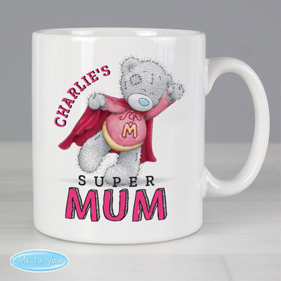 Personalised Me To You Super Mum Ceramic Mug - Shop Personalised Gifts