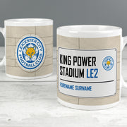 Leicester City FC Street Sign Ceramic Mug