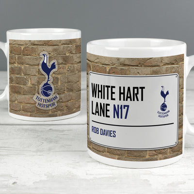 Tottenham Hotspur Street Sign Ceramic Mug - Shop Personalised Gifts