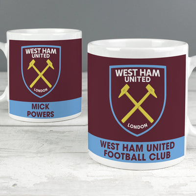 West Ham United FC Bold Crest Mug