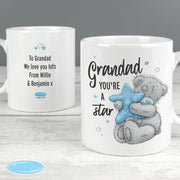 Personalised Me To You Grandad You're A Star Ceramic Mug - Shop Personalised Gifts