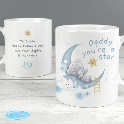 Personalised Tiny Tatty Teddy Daddy You're A Star Ceramic Mug - Shop Personalised Gifts