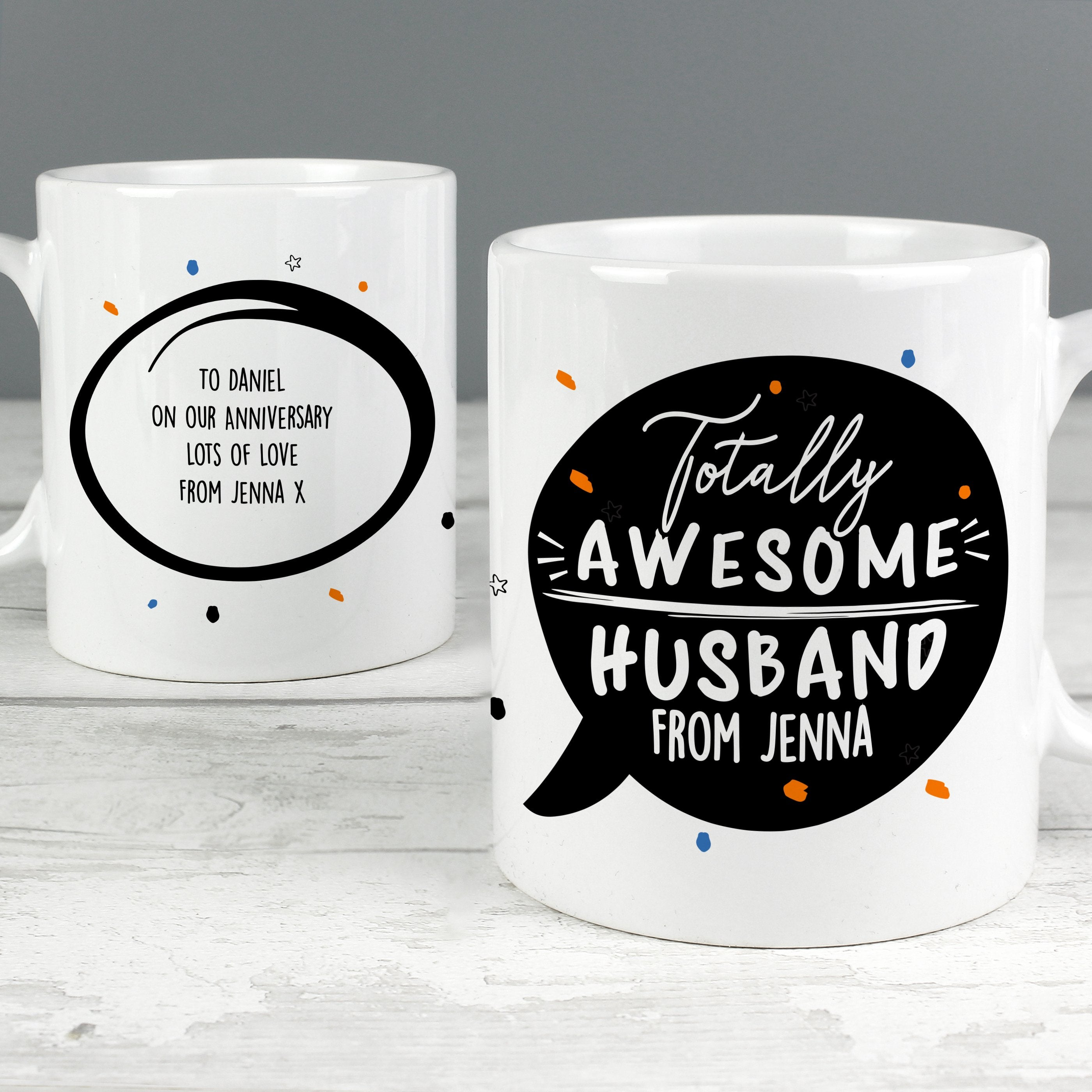 Personalised Totally Awesome Ceramic Mug - Shop Personalised Gifts (4630035726422)