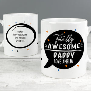 Personalised Totally Awesome Ceramic Mug - Shop Personalised Gifts