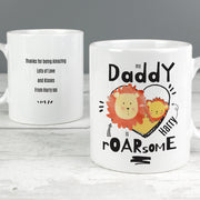 Personalised Roarsome Fathers Day Ceramic Mug - Personalised Books-Personalised Gifts-Baby Gifts-Kids Books