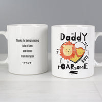 Personalised Roarsome Fathers Day Ceramic Mug - Shop Personalised Gifts