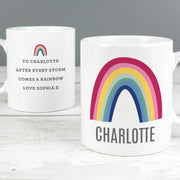 Personalised Rainbow Message Ceramic Mug - Personalised Books-Personalised Gifts-Baby Gifts-Kids Books