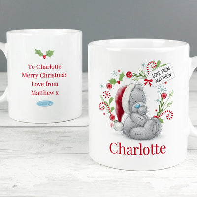 Personalised Me to You Christmas Ceramic Mug - Shop Personalised Gifts