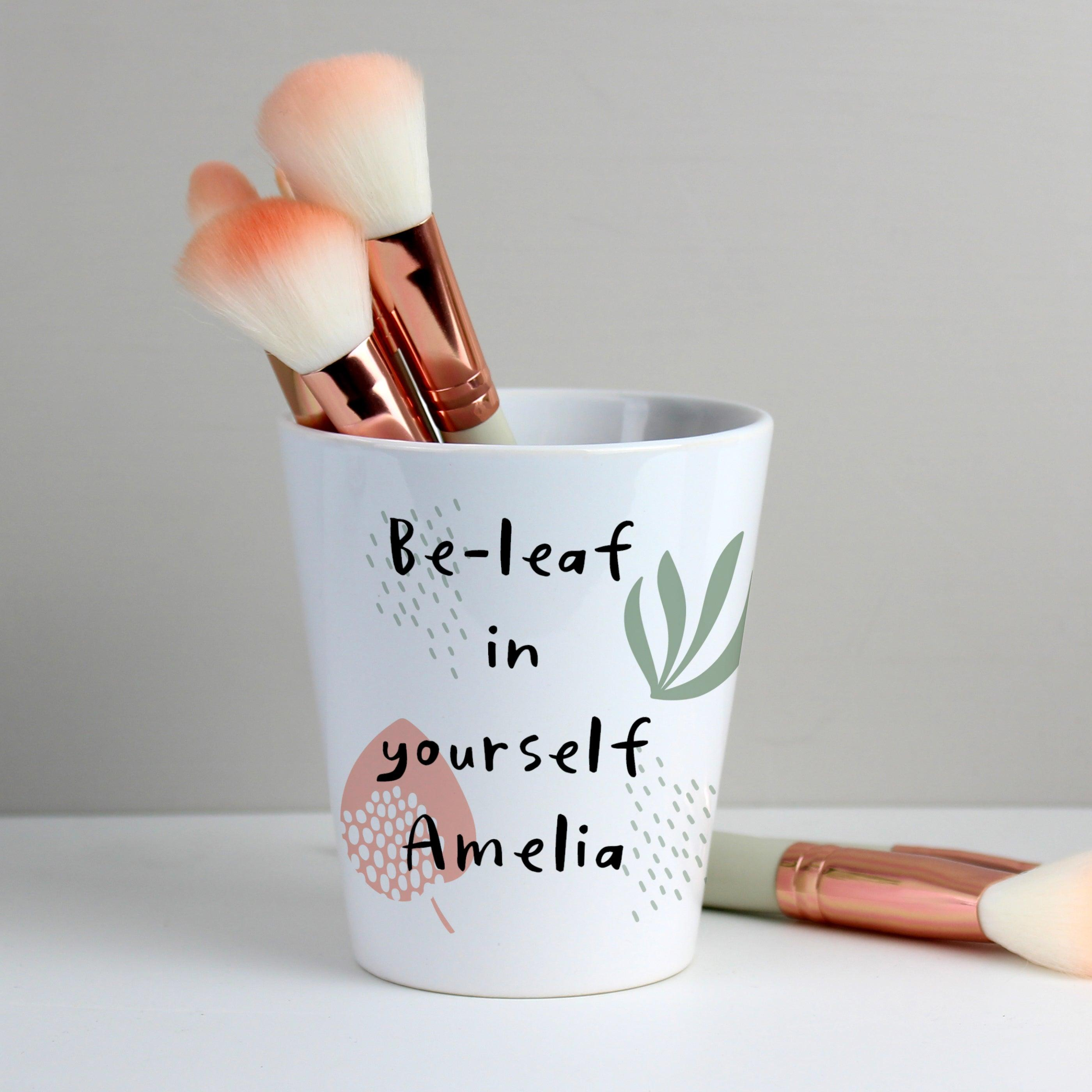 Personalised Abstract Pattern Ceramic Plant Pot (5018386956374)