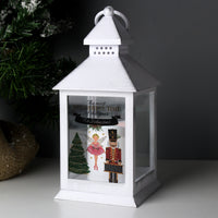 Personalised Nutcracker White Lantern - Shop Personalised Gifts