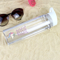 Personalised Unicorn Island Water Drinks Bottle - Shop Personalised Gifts