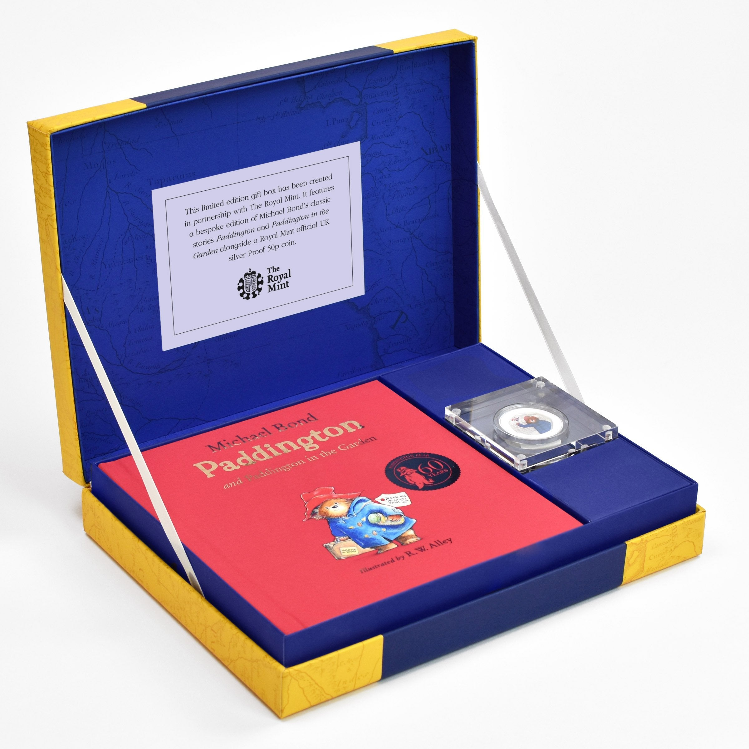 Paddington Bear Silver Royal Mint Collection Box - Shop Personalised Gifts
