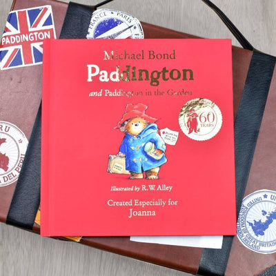 Personalised 60th Anniversary Paddington Bear Book - Two Stories - Personalised Books-Personalised Gifts-Baby Gifts-Kids Books
