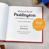 Personalised 60th Anniversary Paddington Bear Book - Two Stories - Shop Personalised Gifts