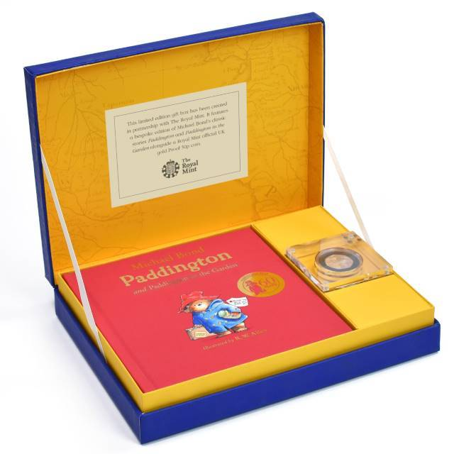 Paddington Bear 22 Carat Rose Gold Royal Mint Collection Box - Shop Personalised Gifts