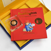Paddington Bear 22 Carat Rose Gold Royal Mint Collection Box - Personalised Books-Personalised Gifts-Baby Gifts-Kids Books