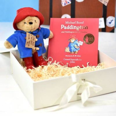 Paddington Bear Soft Toy and Book Gift Set - Personalised Books-Personalised Gifts-Baby Gifts-Kids Books