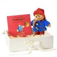 Paddington Bear Soft Toy and Book Gift Set - Shop Personalised Gifts