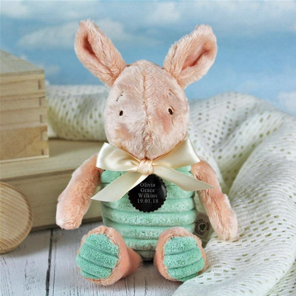 Personalised Classic Piglet Soft Toy Pig - shop-personalised-gifts