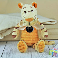 Personalised Classic Tigger Soft Toy Tiger - shop-personalised-gifts