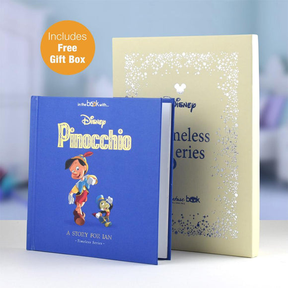 Personalised Disney Pinocchio Story Book