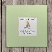 Peter Rabbit's Personalised Little Book of Virtue - Personalised Books-Personalised Gifts-Baby Gifts-Kids Books