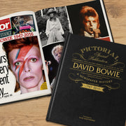 David Bowie Pictorial Edition Newspaper Book - shop-personalised-gifts