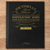 Napoleonic Wars Pictorial Edition Newspaper Book - Personalised Books-Personalised Gifts-Baby Gifts-Kids Books