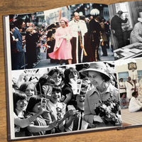 Queen Elizabeth Pictorial Edition Newspaper Book - Shop Personalised Gifts