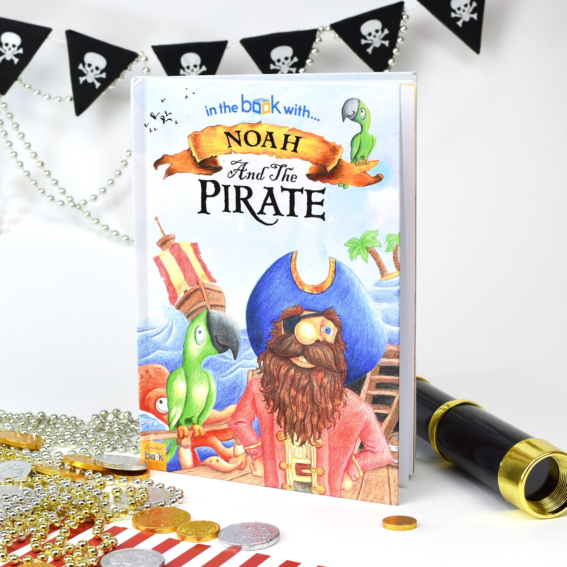 Personalised Pirate Story Book - Ideal For Birthdays - Shop Personalised Gifts