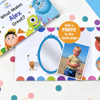 What Makes me Great Disney Pixar Board Book - Shop Personalised Gifts