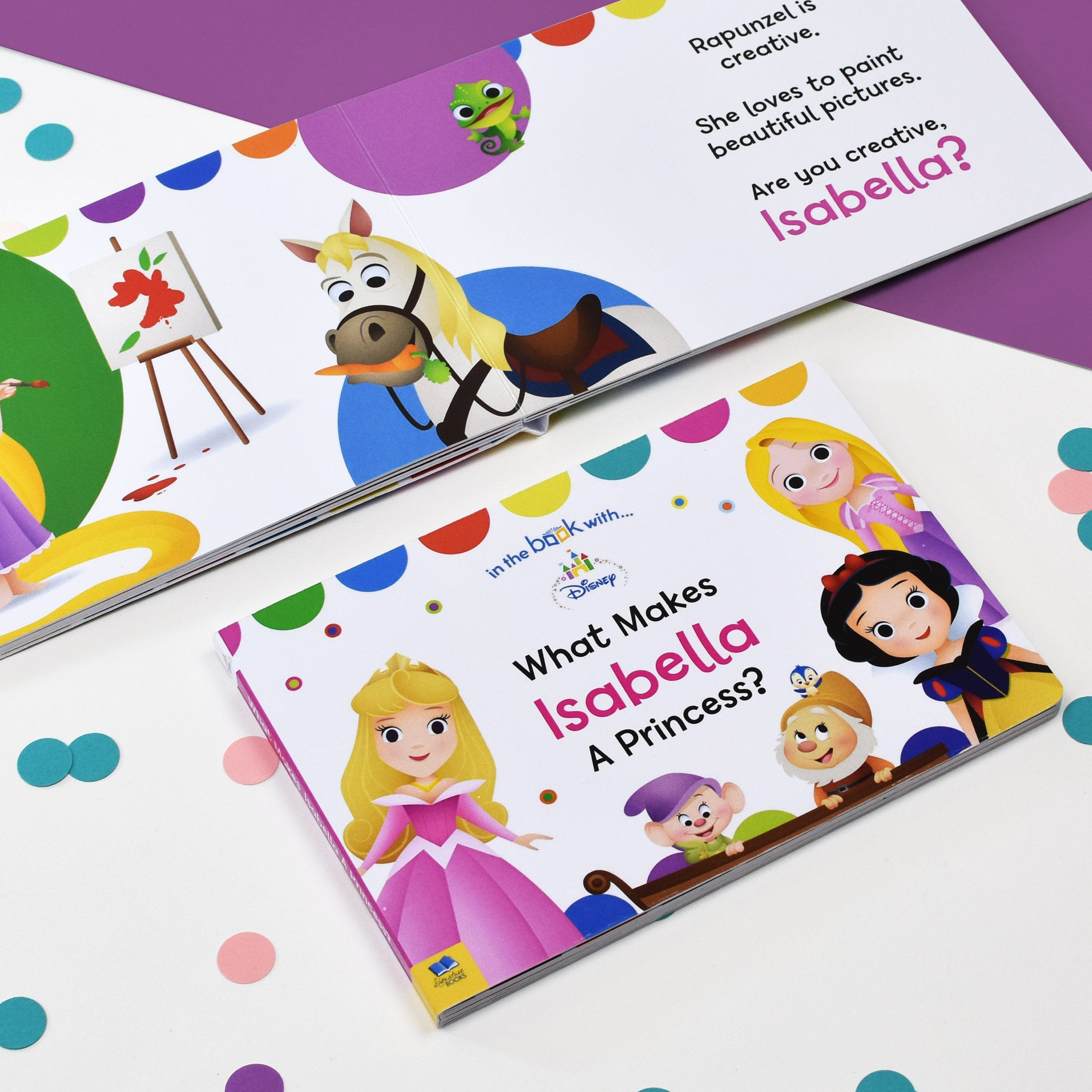 What Makes me a Princess Disney Board Book - Shop Personalised Gifts