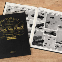 100 Years of the RAF Pictorial Personalised Newspaper book - Shop Personalised Gifts