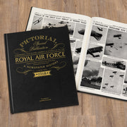 100 Years of the RAF Pictorial Personalised Newspaper book - Personalised Books-Personalised Gifts-Baby Gifts-Kids Books