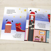 When Santa Got Stuck Up the Chimney Christmas Book - Personalised Books-Personalised Gifts-Baby Gifts-Kids Books