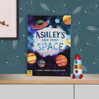 My Personalised Book About Space - Shop Personalised Gifts