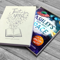 My Personalised Book About Space - shop-personalised-gifts