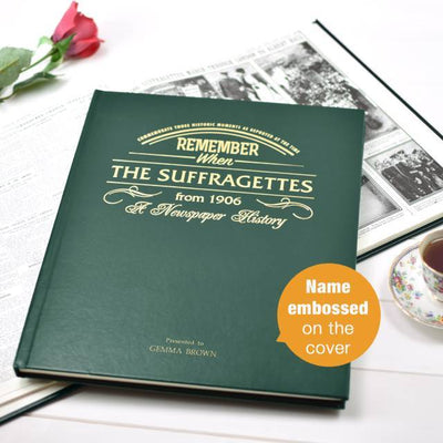 The Suffragettes: 100 Years Since Women got the Vote - Personalised Books-Personalised Gifts-Baby Gifts-Kids Books