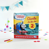 Thomas the Tank Engine Personalised Birthday Book - Shop Personalised Gifts