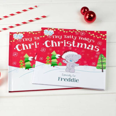 Personalised Me to You Tiny Tatty Teddy's Christmas Book - Personalised Books-Personalised Gifts-Baby Gifts-Kids Books