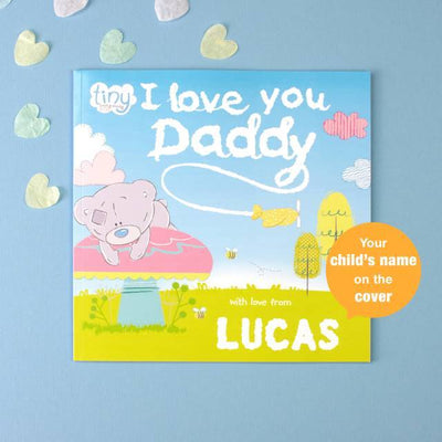 Personalised Me to You Tiny Tatty Teddy I Love You Daddy Book - Shop Personalised Gifts