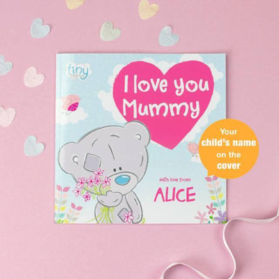 Personalised Me to You Tiny Tatty Teddy I Love You Mummy Book - Personalised Books-Personalised Gifts-Baby Gifts-Kids Books