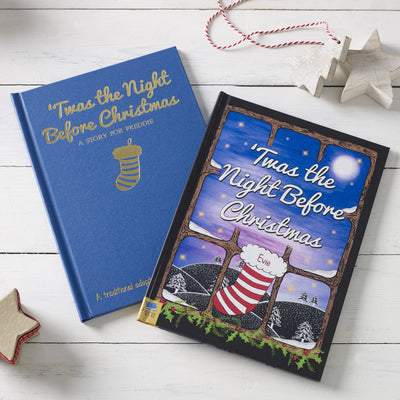 Twas the Night Before Christmas Personalised Book - shop-personalised-gifts